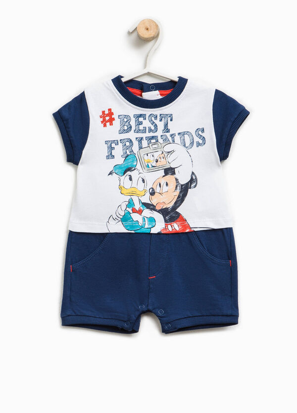 Donald Duck and Mickey Mouse romper suit | OVS