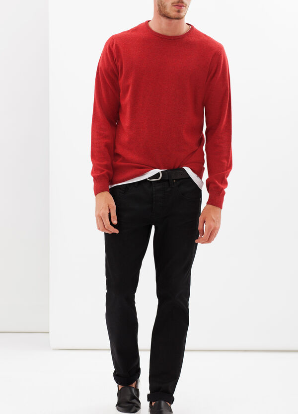 Pullover with round neck | OVS