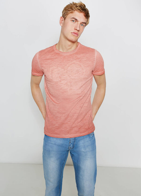 T-shirt in cotone mélange stampata G&H   OVS
