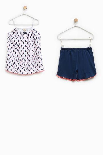 100% Biocotton pyjamas with print