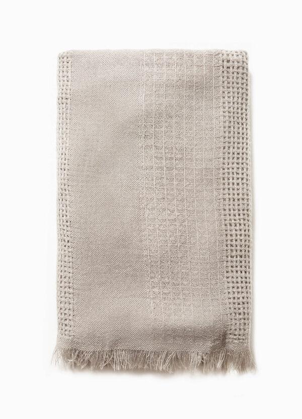 Bufanda calada en color liso | OVS