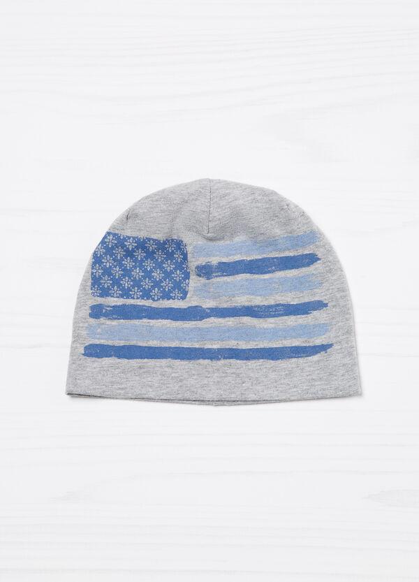 Cappello a cuffia con stampa | OVS