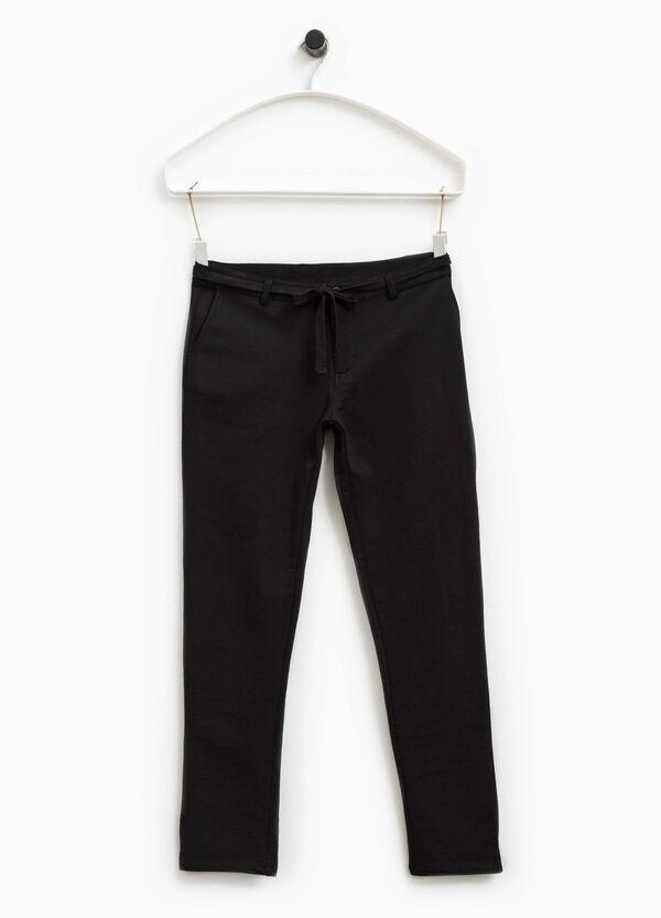 Pantaloni in cotone Smart Basic | OVS