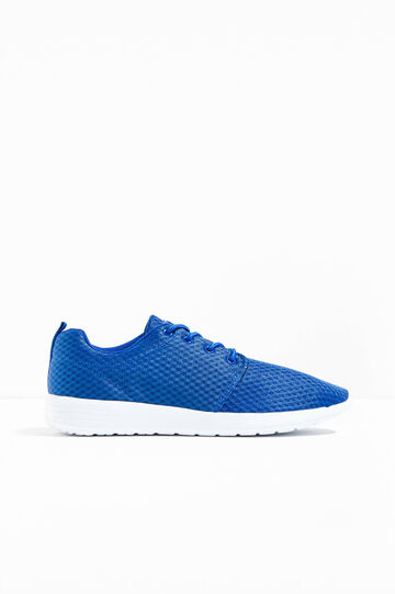 Sneakers with mesh upper, Cornflower Blue, hi-res