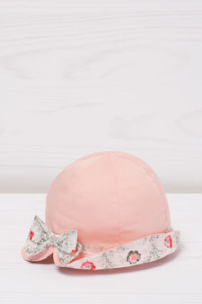 Fishing hat with bow, Pink, hi-res