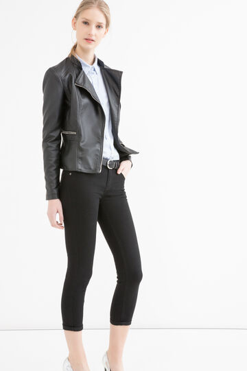 Skinny stretch jeans, Black, hi-res