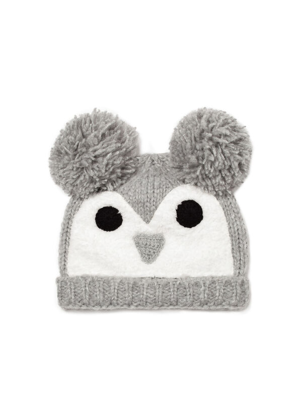 Beanie cap with faux fur | OVS