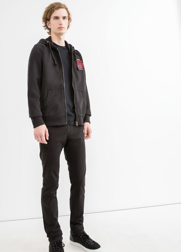 G&H solid colour cotton blend sweatshirt | OVS