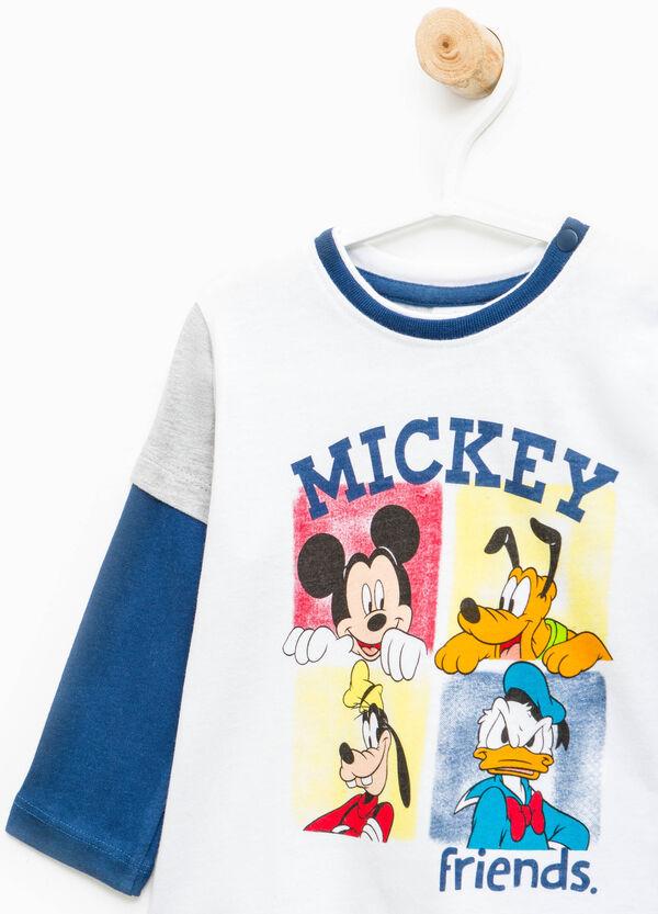 Disney print cotton T-shirt | OVS