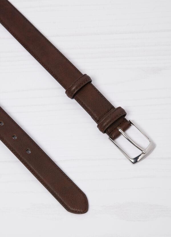 Cintura similpelle fibbia rettangolare | OVS