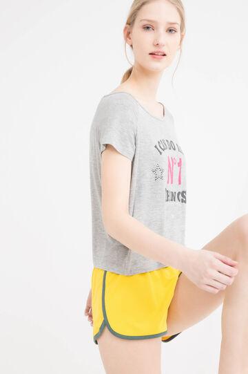 Shorts sportivi stretch, Multicolor, hi-res