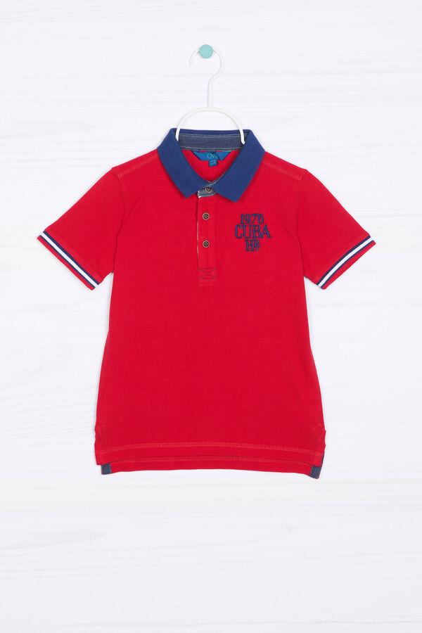 Printed polo shirt   OVS