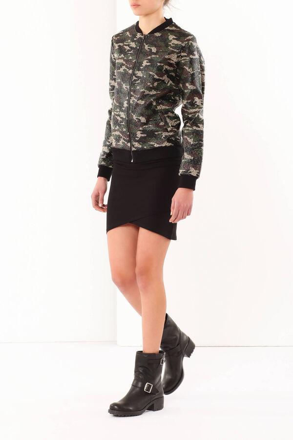 Camouflage print bomber jacket | OVS