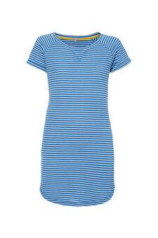 Smart Basic striped dress, White/Light Blue, hi-res