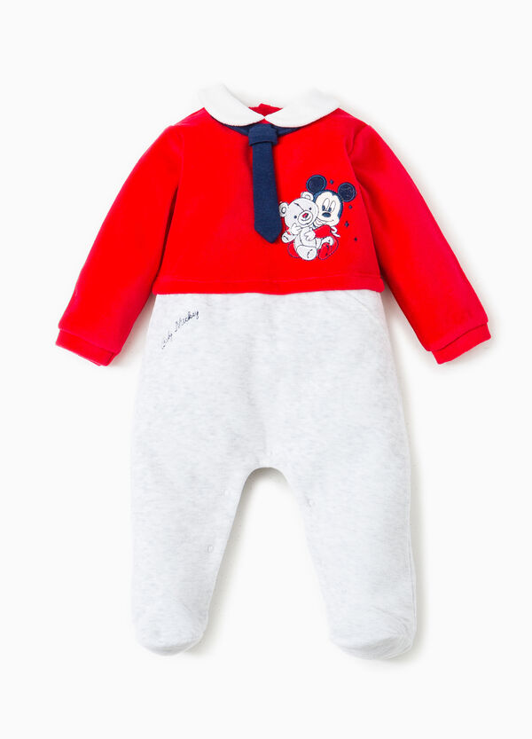 Baby Mickey Mouse onesie with tie | OVS