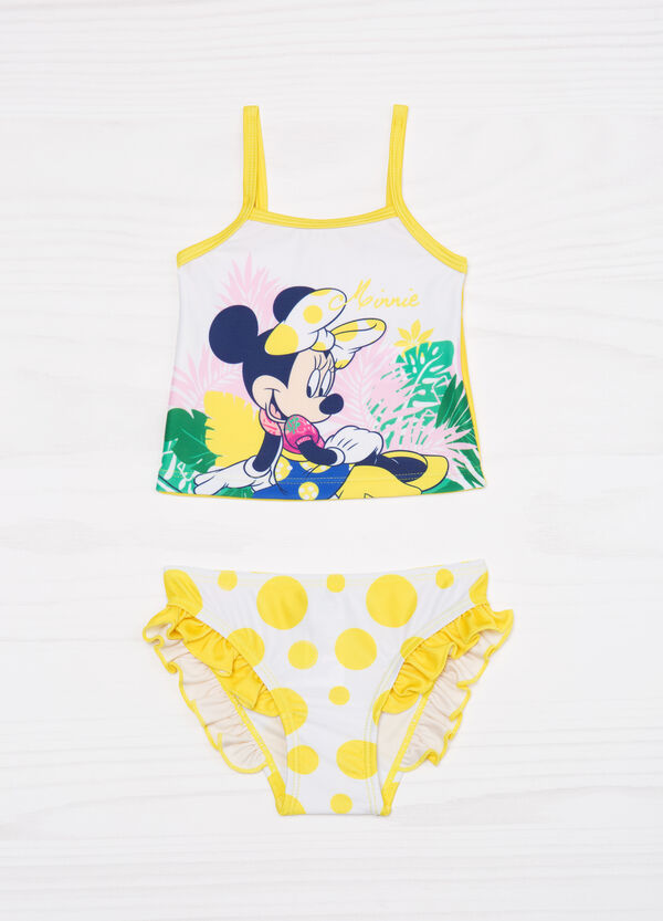Tankini stretch con stampa Minnie | OVS
