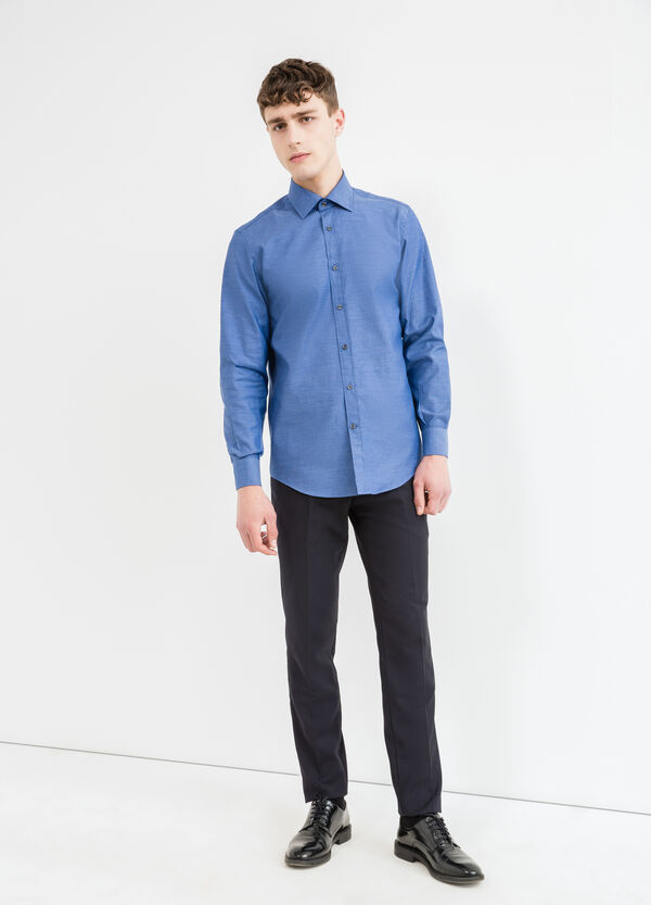 Regular-fit formal shirt with two-button cuffs | OVS