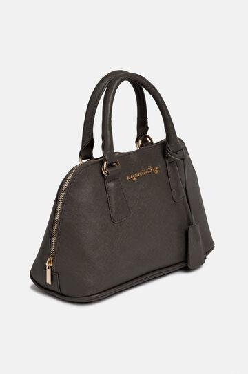 Imitation leather trunk bag, Grey, hi-res