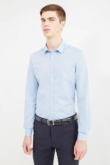 Camicia formale custom fit, Blu chiaro, hi-res