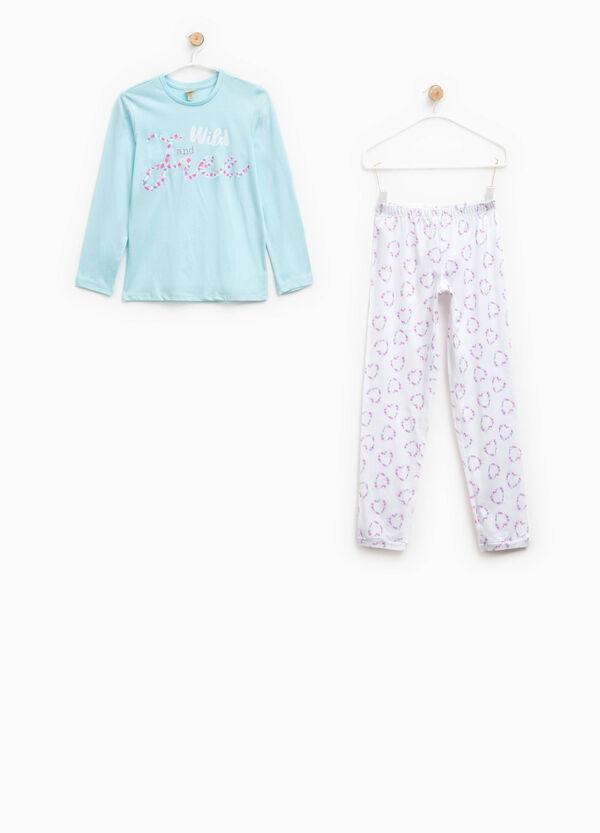 100% Biocotton pyjamas with pattern | OVS