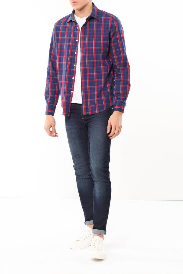 Camicia tartan in cotone | OVS