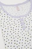 100% cotton pyjamas with hearts, White, hi-res