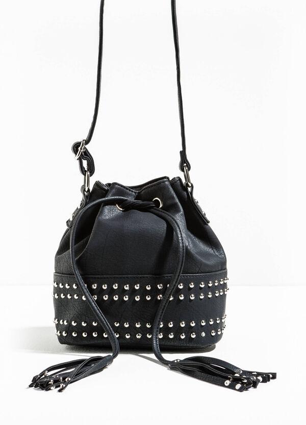 Shoulder bag with studs and tassels | OVS