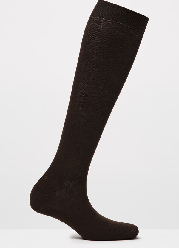 Solid colour long socks | OVS