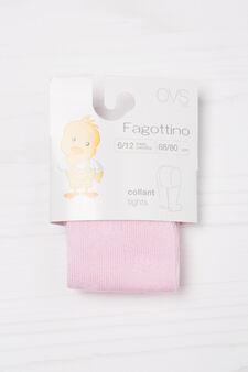 Cotton blend tights, Pink, hi-res