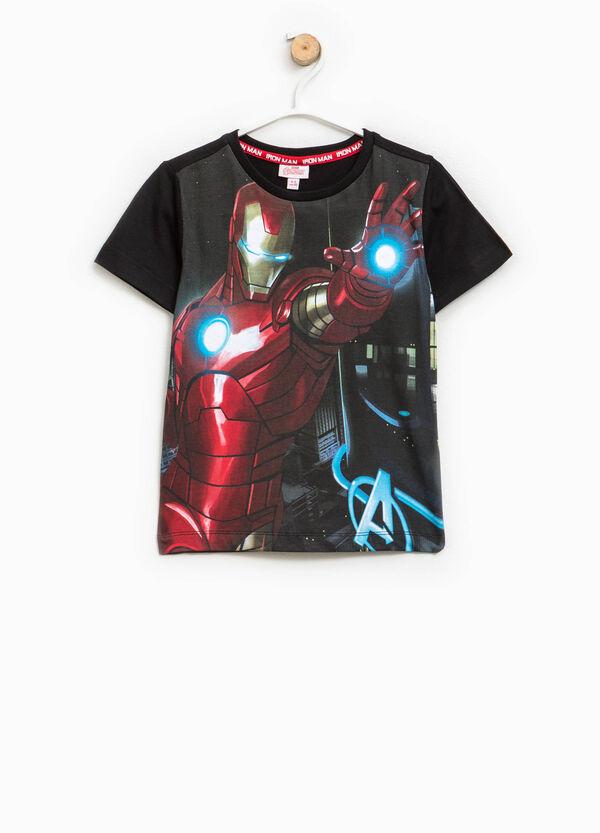 Cotton T-shirt with maxi Ironman print | OVS