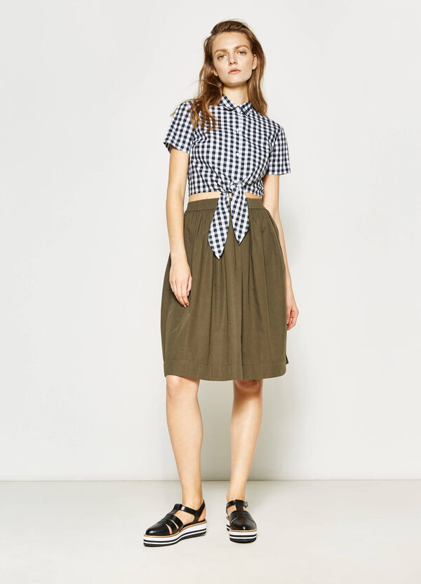 Full skirt with pleats | OVS