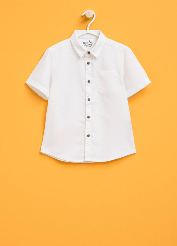 Short-sleeved shirt with pocket | OVS