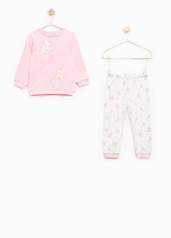 Cotton pyjamas with print and pattern | OVS