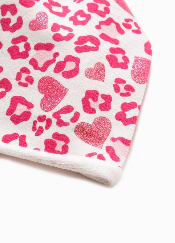 Beanie cap with glitter pattern | OVS