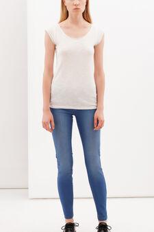 Slim fit stretch jeans, Blue, hi-res