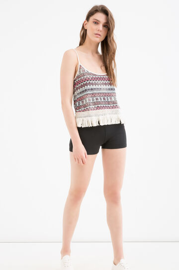 Printed top by Maui and Sons, Green, hi-res