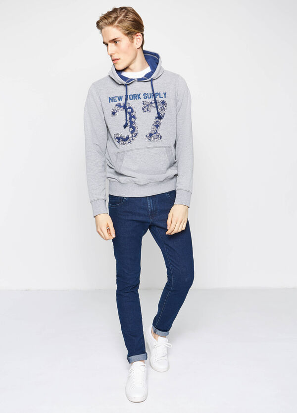 G&H sweatshirt with printed lettering | OVS