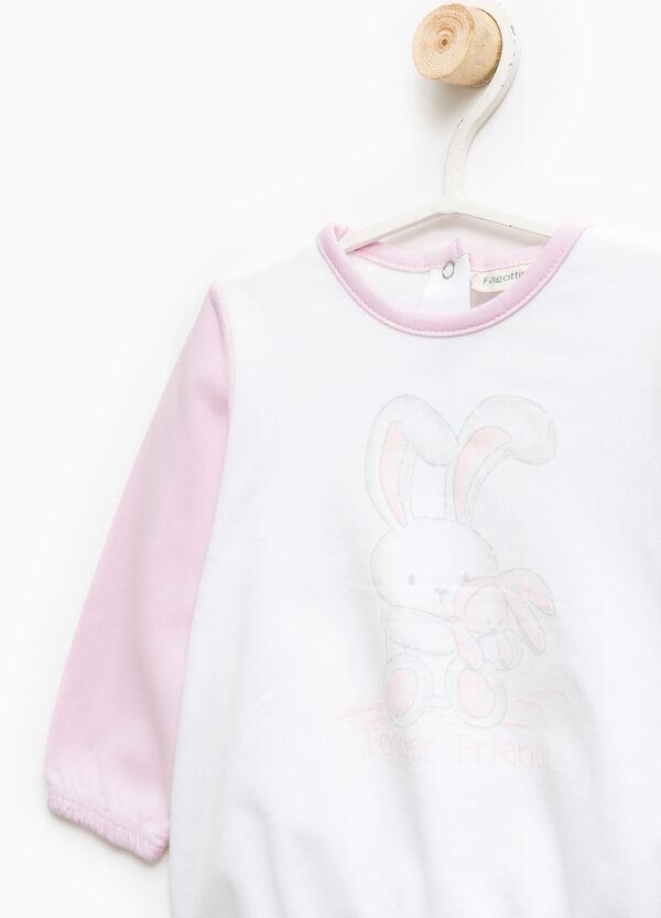 Pijama en algodón 100% con estampado | OVS