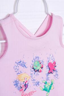 Stretch vest with crisscross straps, Pink, hi-res