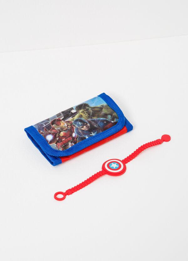 Avengers wallet and bracelet set | OVS