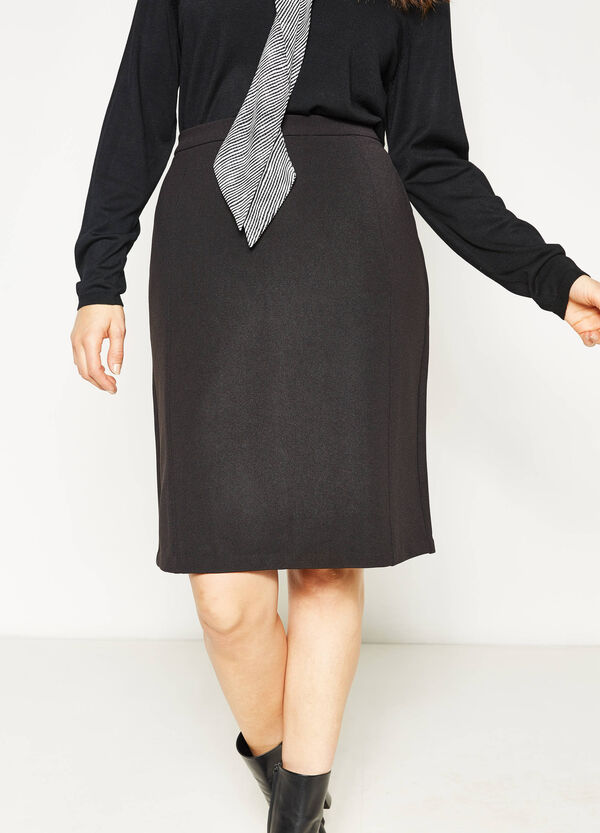 Curvy stretch pencil skirt | OVS