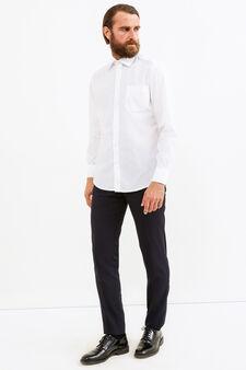 Regular-fit formal shirt, White, hi-res