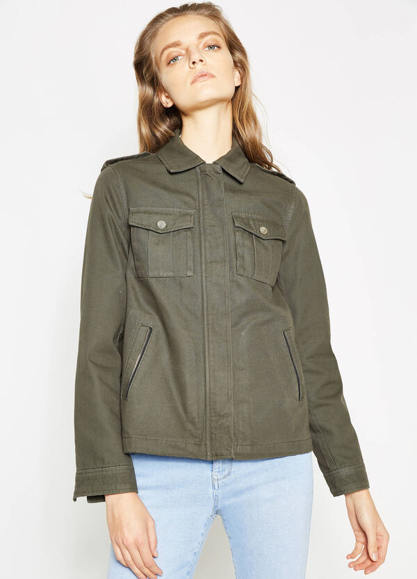 Jacket with pleating | OVS