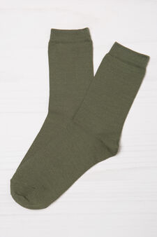 Five-pair pack stretch socks, Grey Marl, hi-res