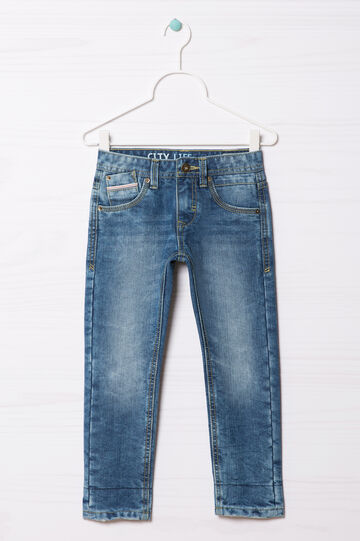 5-pocket, straight-fit jeans., Medium Wash, hi-res