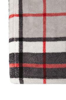 Tartan pattern scarf, Multicolour, hi-res