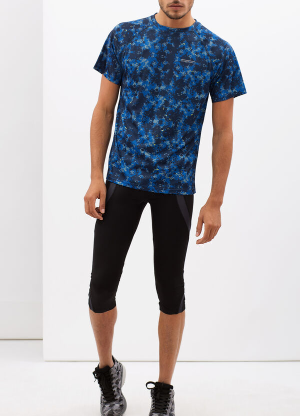 T-shirt con stampa optical | OVS