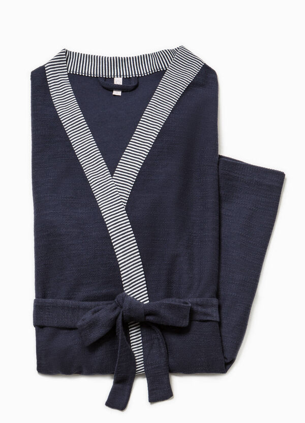Dressing gown with shawl neck | OVS