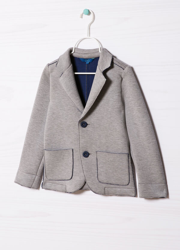 Stretch jacket with lapels | OVS