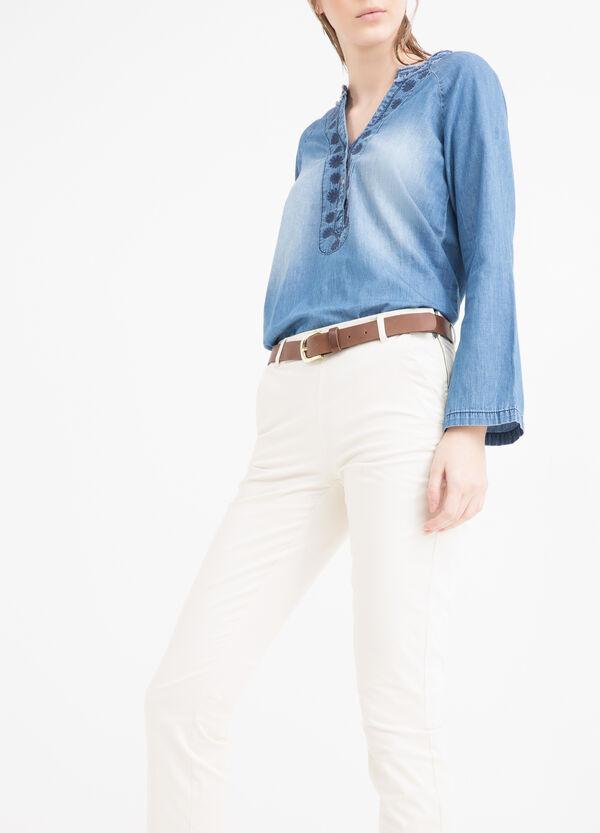 Pantaloni cotone stretch | OVS